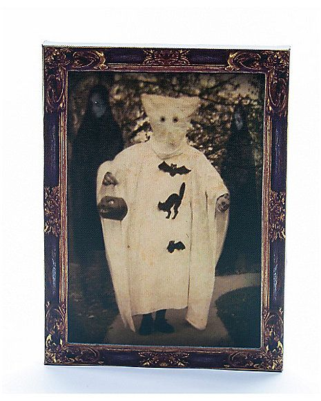 Light Up Vintage Ghost Photo Spirit Halloween