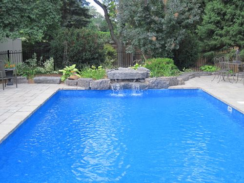 Best Waterfall On Pools Google Search With Pool Bausatz