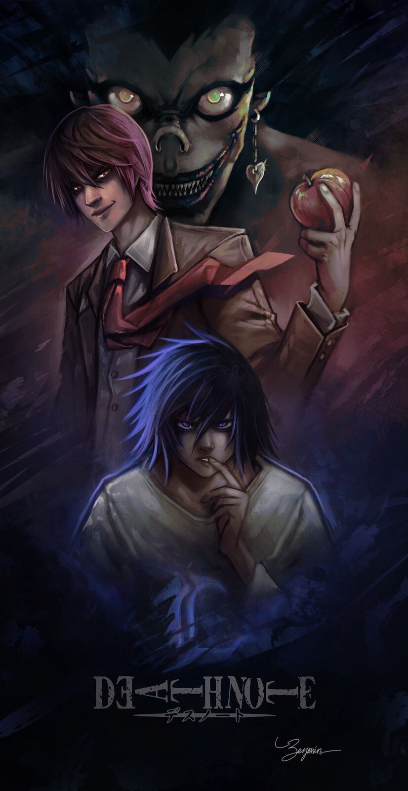 Pin By Calen Bro On Anime In 2020 Death Note Light Death Note Fanart Death Note Cosplay
