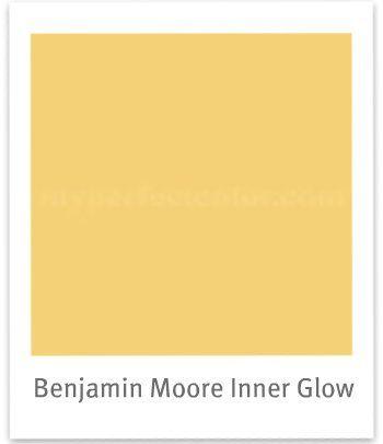 benjamin moore 2154-40 york harbor yellow | myperfectcolor | beach