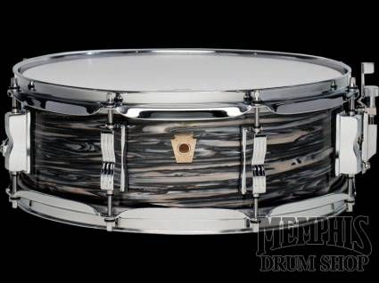 ludwig 14 x 5 limited edition classic maple jazz festival snare drum vintage black oyster. Black Bedroom Furniture Sets. Home Design Ideas
