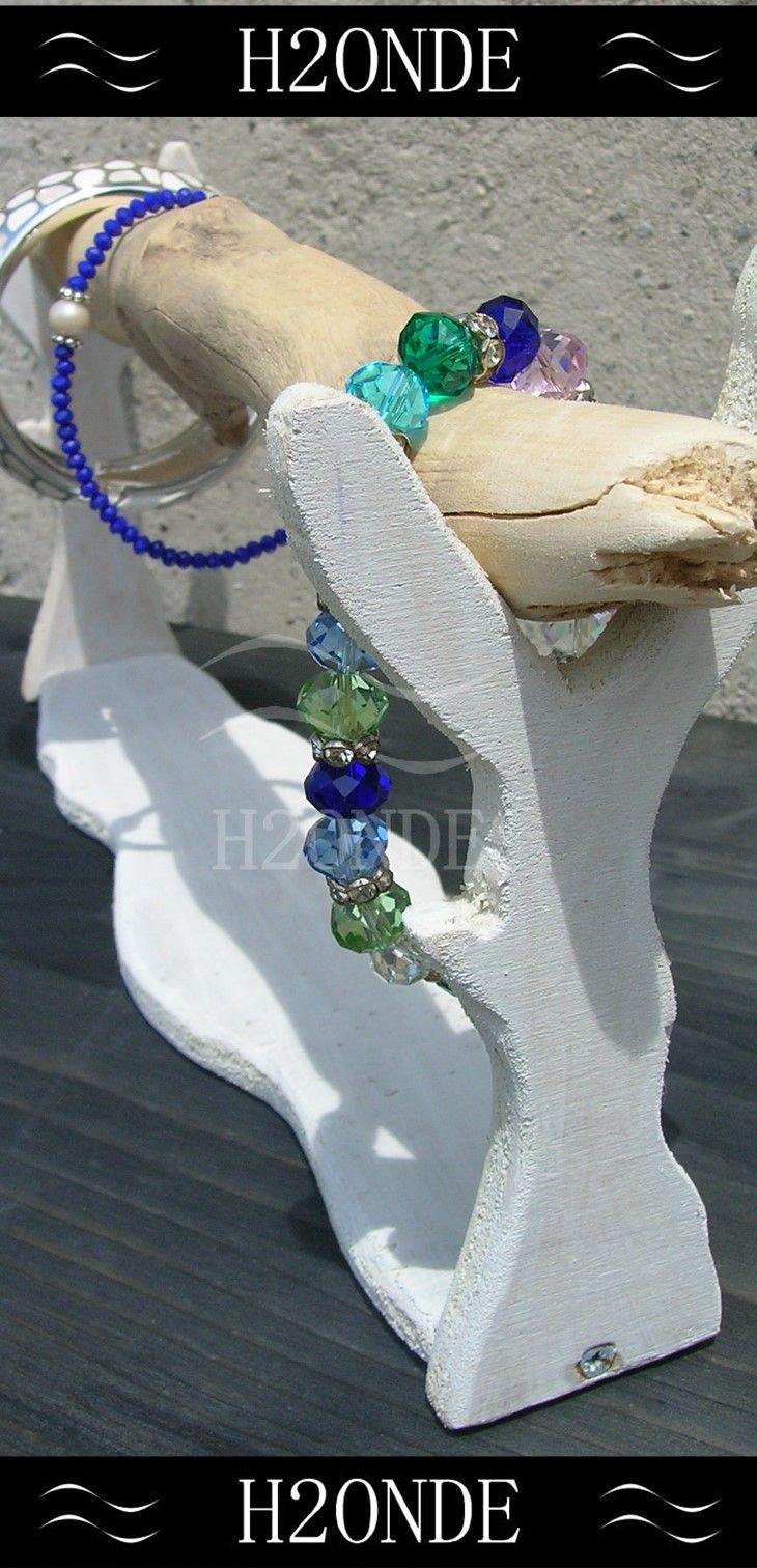Bracelet display stand,driftwood jewelry organizer,watches display stand,shabby…