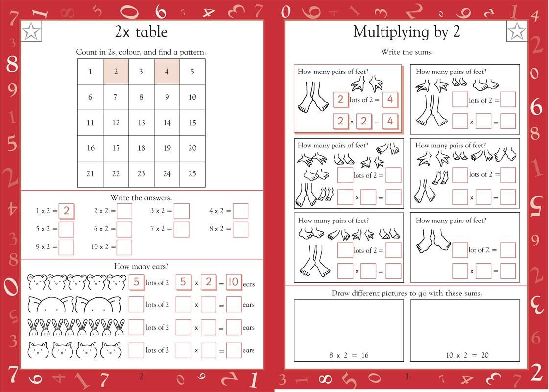 Maths Made Easy Times Tables Ages 5 7 Key Stage 1