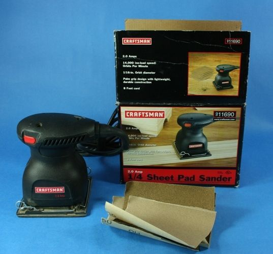 DIY  Tools Craftsman Pad Sander
