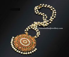 Traditional Ruby Pendant
