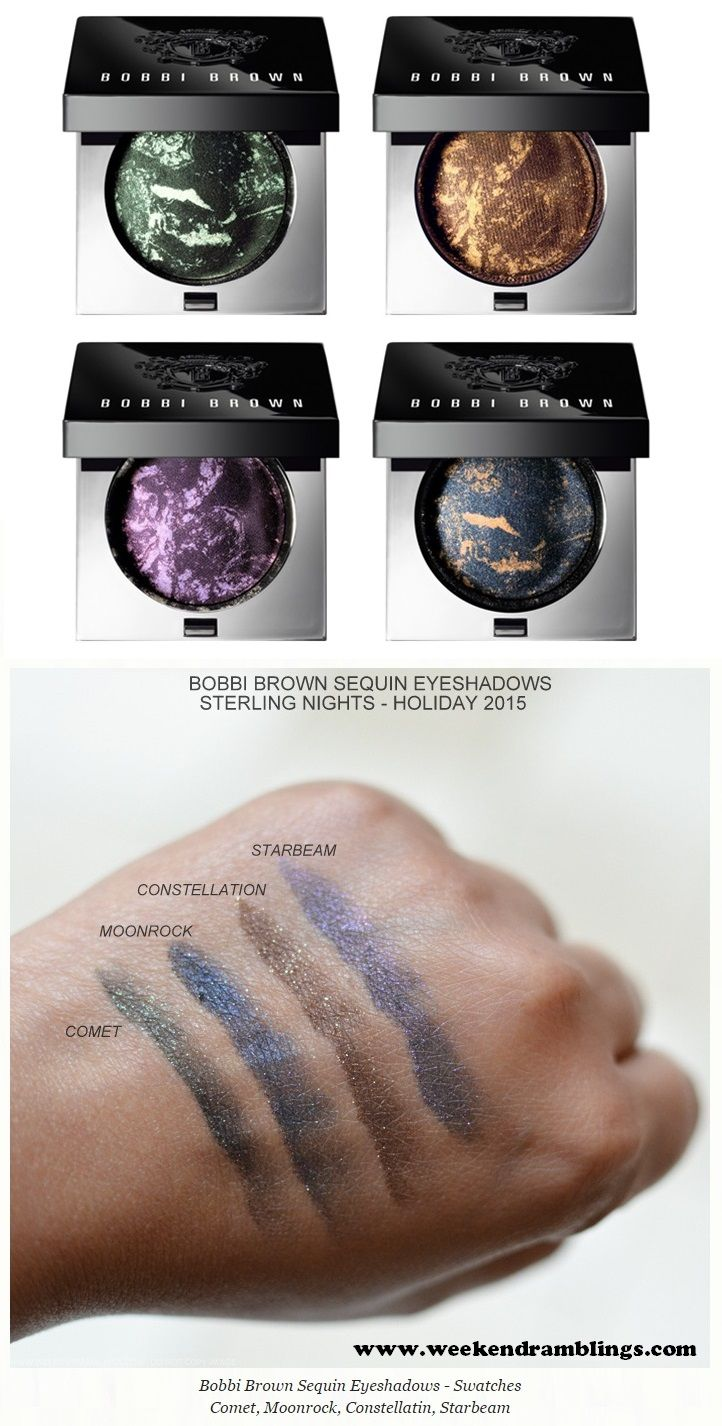 Bobbi Brown Sterling Nights Sequin Eye Shadow Holiday