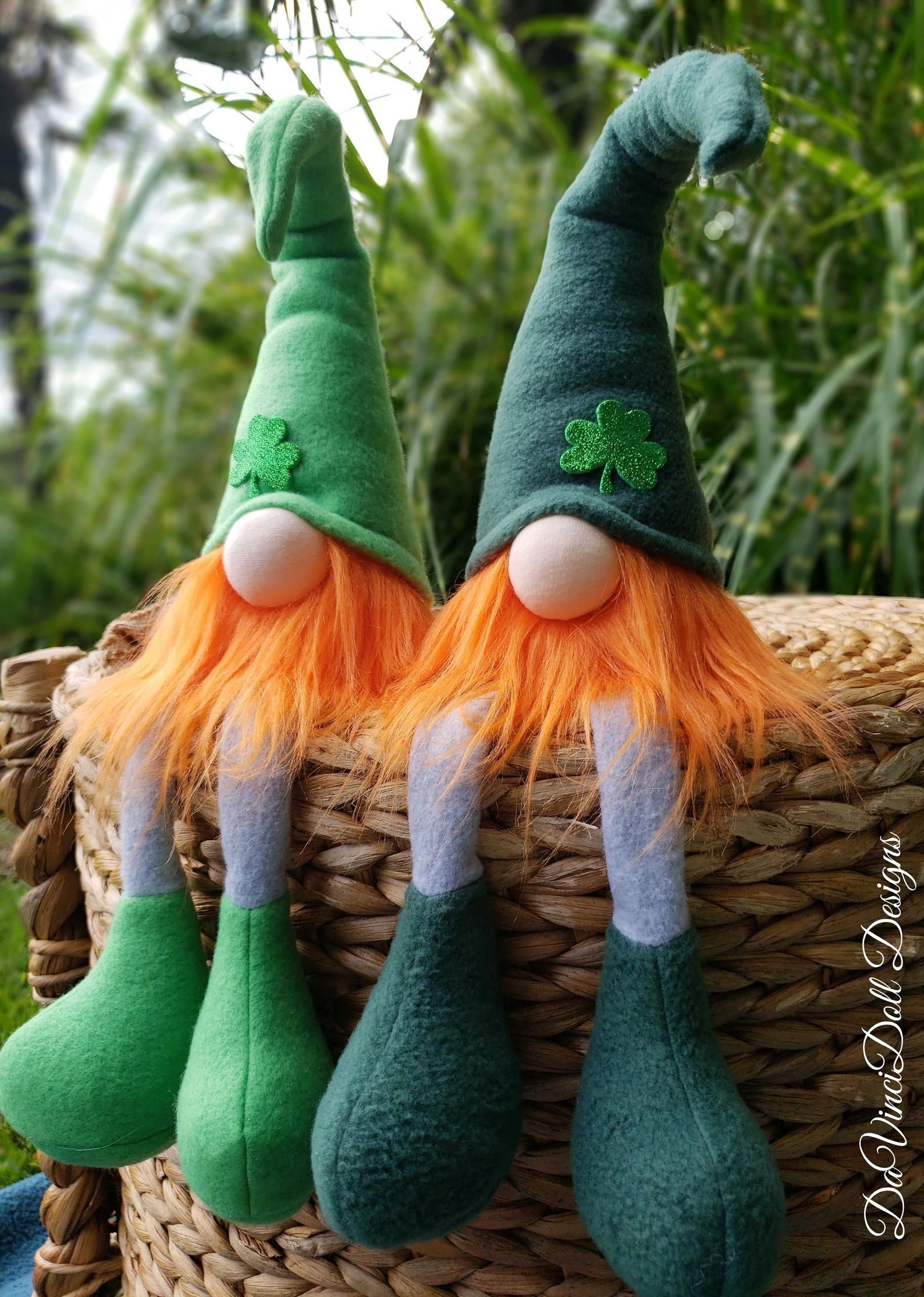 Download St. Patrick's Day Gnome Sitting Nisse tomte | Gnomes ...