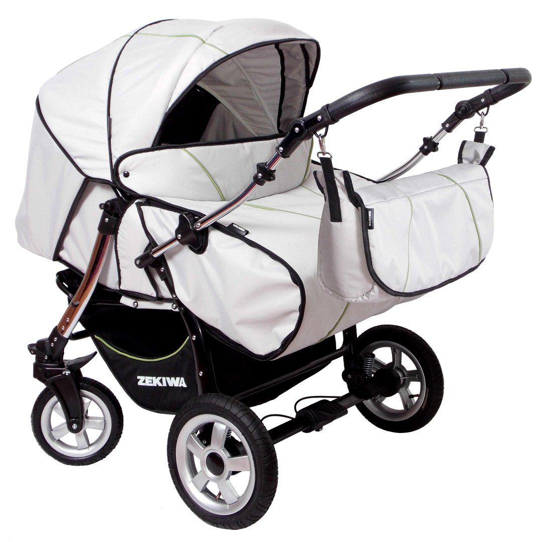 Twinstroller Zekiwa 'Twin New' Twin pram, Twin strollers