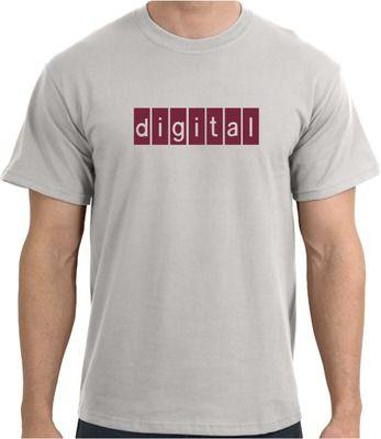 cd07ced2 Digital Equipment Corp Retro Logo T-Shirt | Annwn | Retro logos ...
