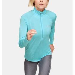 Photo of Under Armor Women's Ua Tech ™ Twist shirt, with a half-length zip Blue Xxl Under Armor