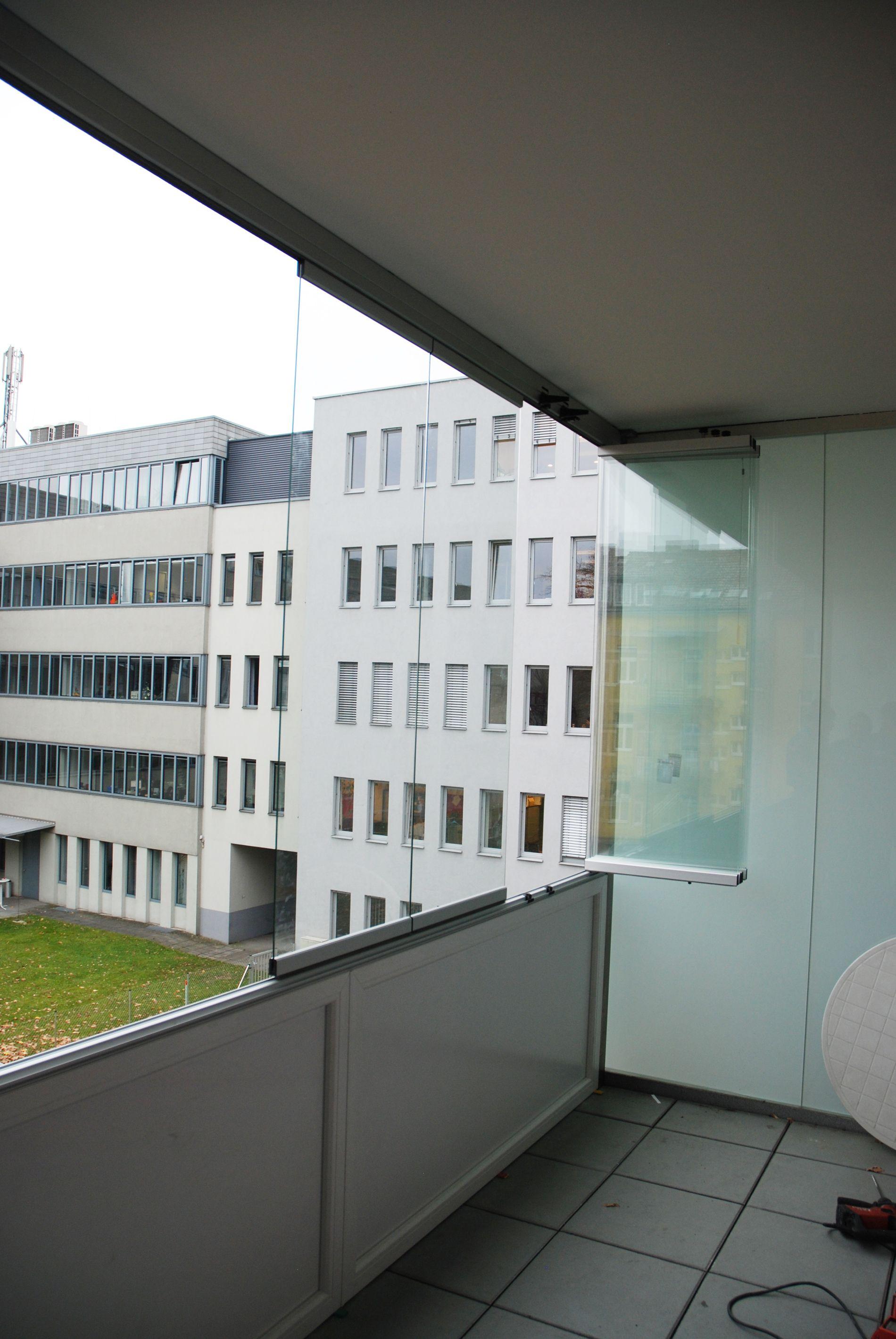 Regenschutz Balkon Falten Verglasungen Balkon Terrasse