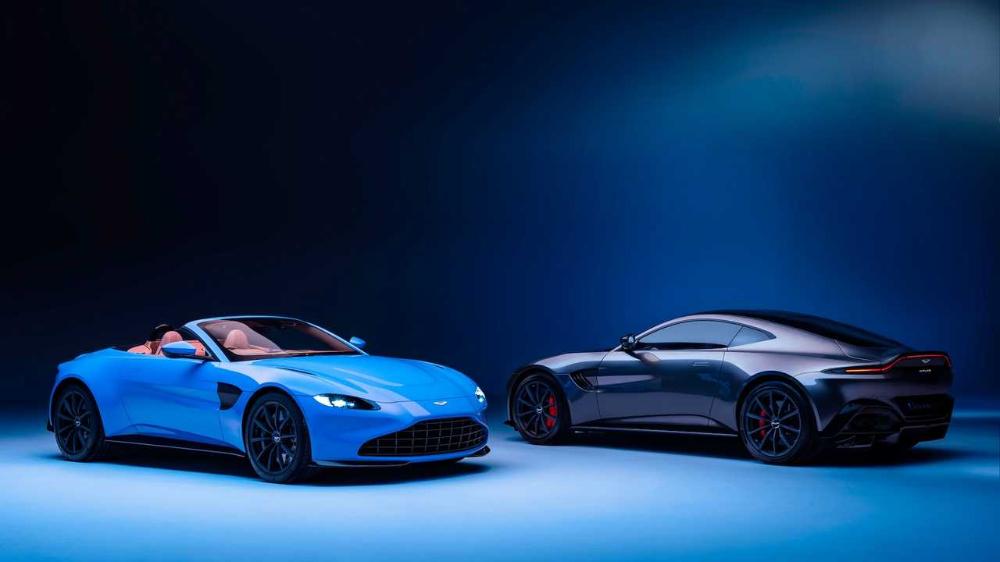 AllNew 2021 Aston Martin Vantage Roadster Is A Vision Of