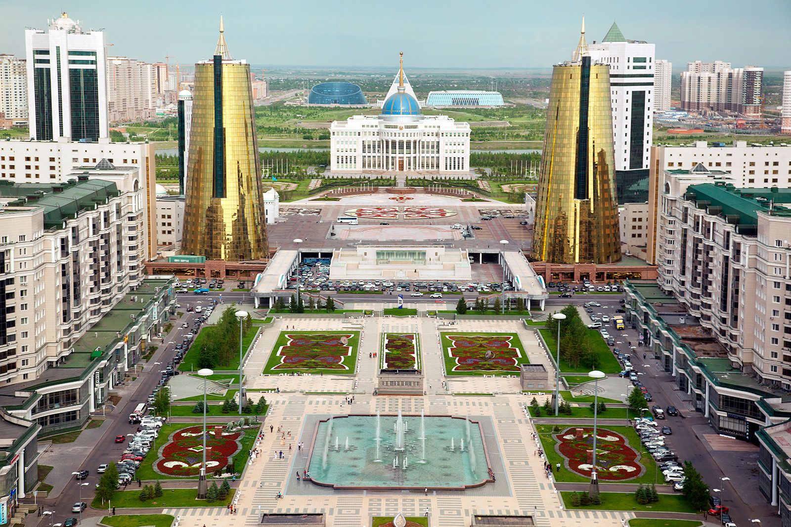 A Tale Of Two Cities Ryan Koopmans Photographs The Old And New Capitals Of Kazakhstan Futuristic Architecture City Neo Baroque