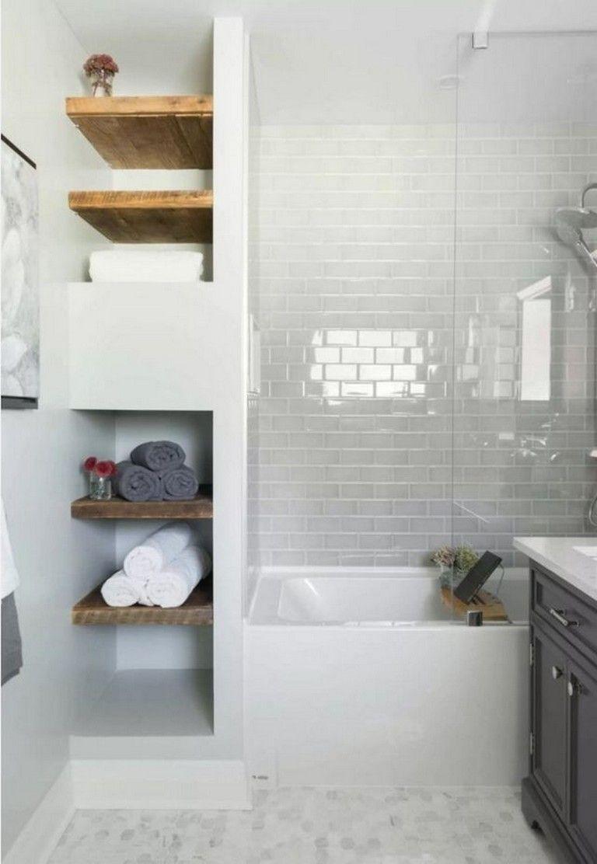 33 Best Small Bathroom Decor Ideas Bathroom Trends Bathroom Remodel Master Small Master Bathroom