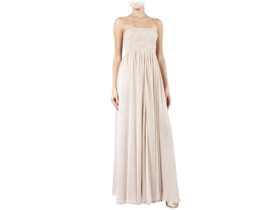 Vestido Largo Brazzi 311010 Strapless