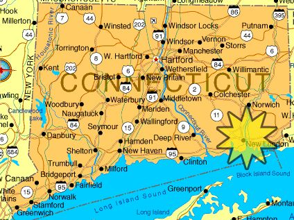 Map Of Connecticut Google Image Result For Httpwww - Conneticut map