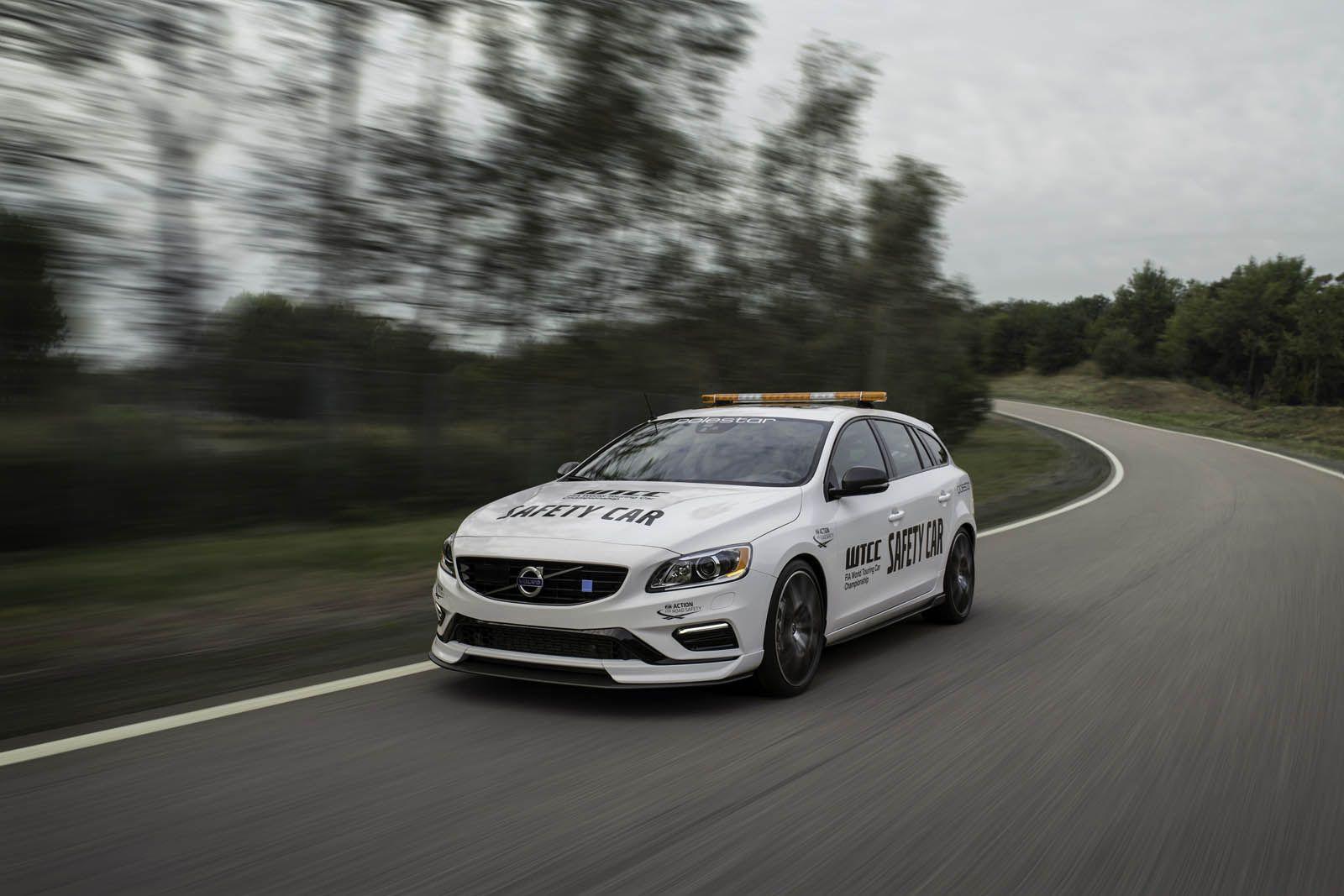 Volvo Upgrades The V60 Polestar WTCC Safety Car | Volvo