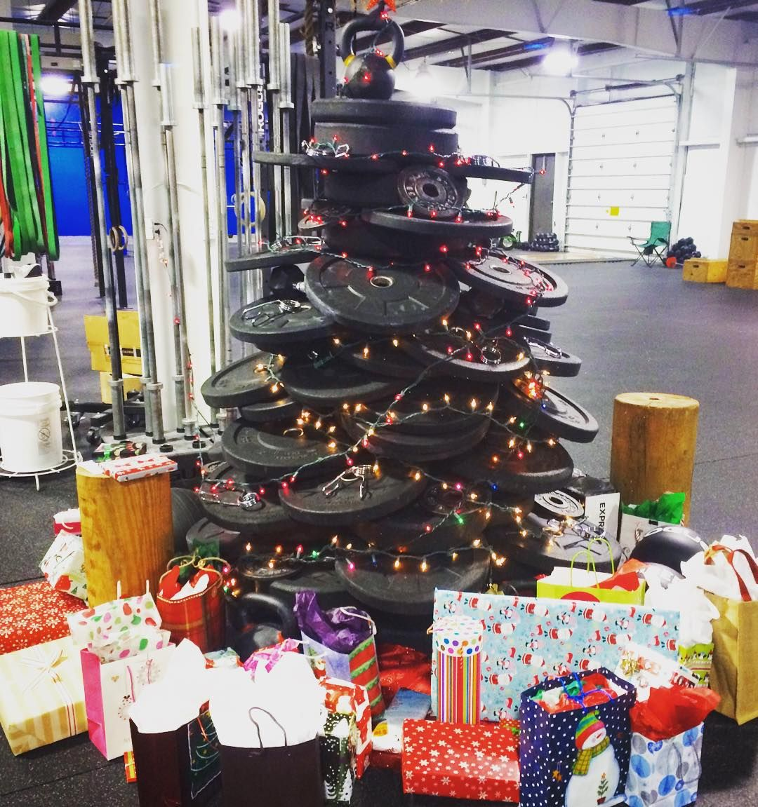 Christmastree Gym Fitness Merry Christmas To All Celebrate Christ Fit Life