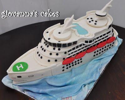 Giovannas Cakes Cruise Ship Cake Ship Pirate And Fishingboat - Cruise ship cake