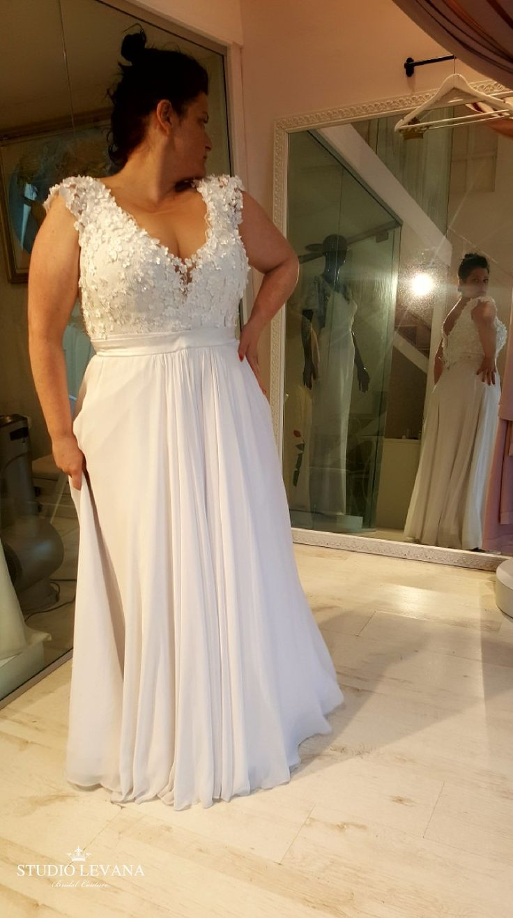 Designer Hochzeitskleid Plus Size Tea Length Wedding Dresses Canada, Plus Size
