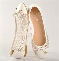 pas mal qualité-supérieure magasin en ligne Chaussures FEMME - BALLERINES BLANC - ANA LUNA - Chaussures ...