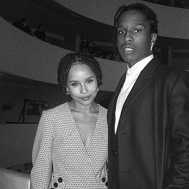 Is asap rocky dating zoe kravitz