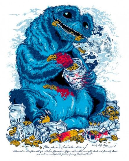 Rhys Cooper Sesame Street characters | Illustration ...