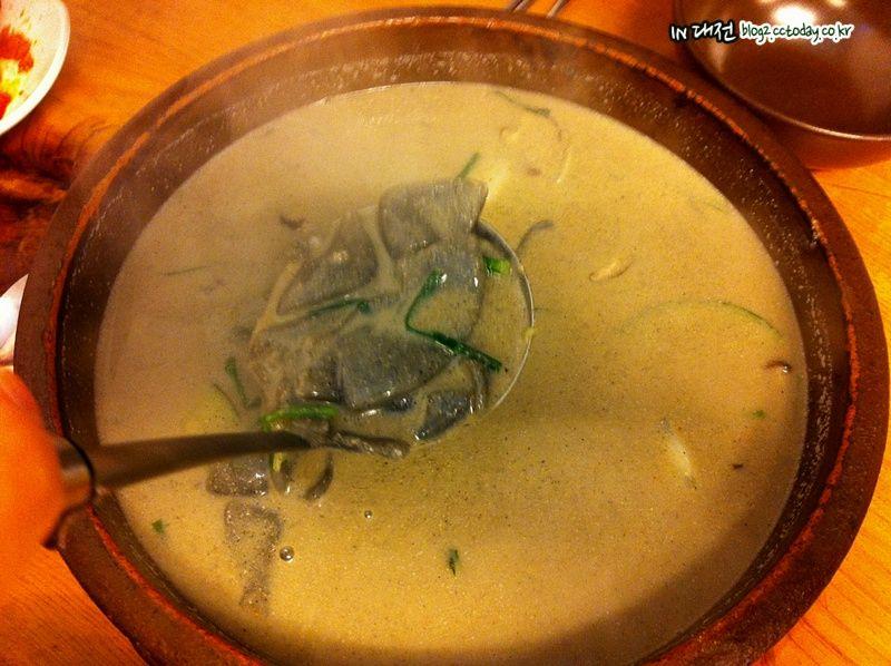 IN 대전 :: [대전맛집]수제비를 얕보지마라 '우희경 검은콩 수제비'