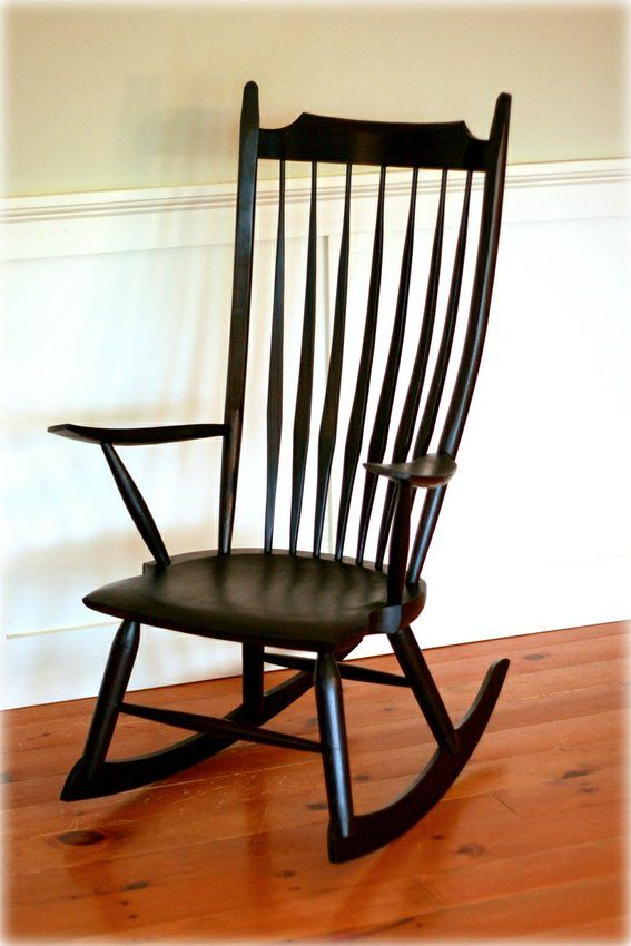 Custom Made Windsor Rocking Chair 2 000 1800 2400 Chaise Bercante Chaise Deco