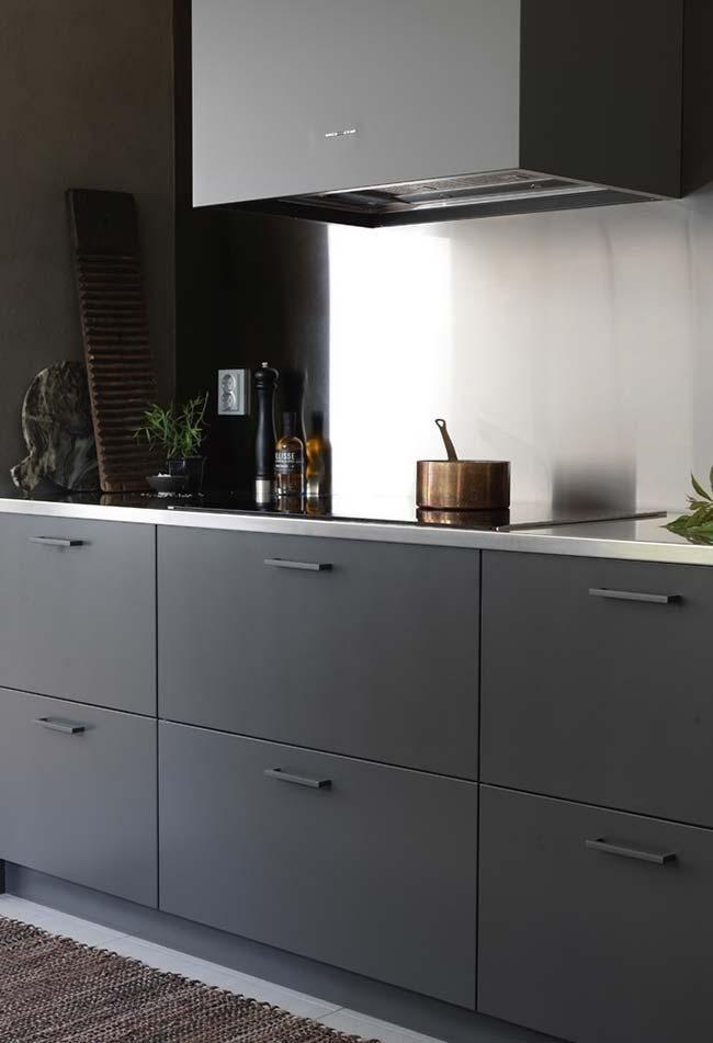 Zuhause Schwarze Küche: Treffen Sie 60 aktuelle Modelle, die die Kreativität verschwenden #herd  #autos  #holz  #stress  #design  #küchendesign  #media