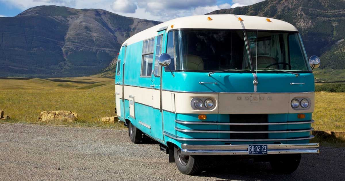 Meet Myrtle The 1964 Dodge Travco Motorhome With Spacious Insides Dodge Camper Van Motorhome Vintage Camper