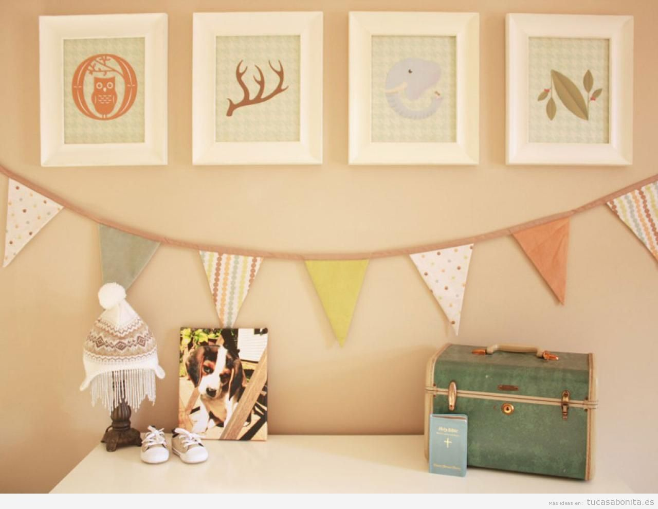 Pin de ximena duarte en dormitorio de bebe decorar for Ideas para decorar el cuarto del bebe