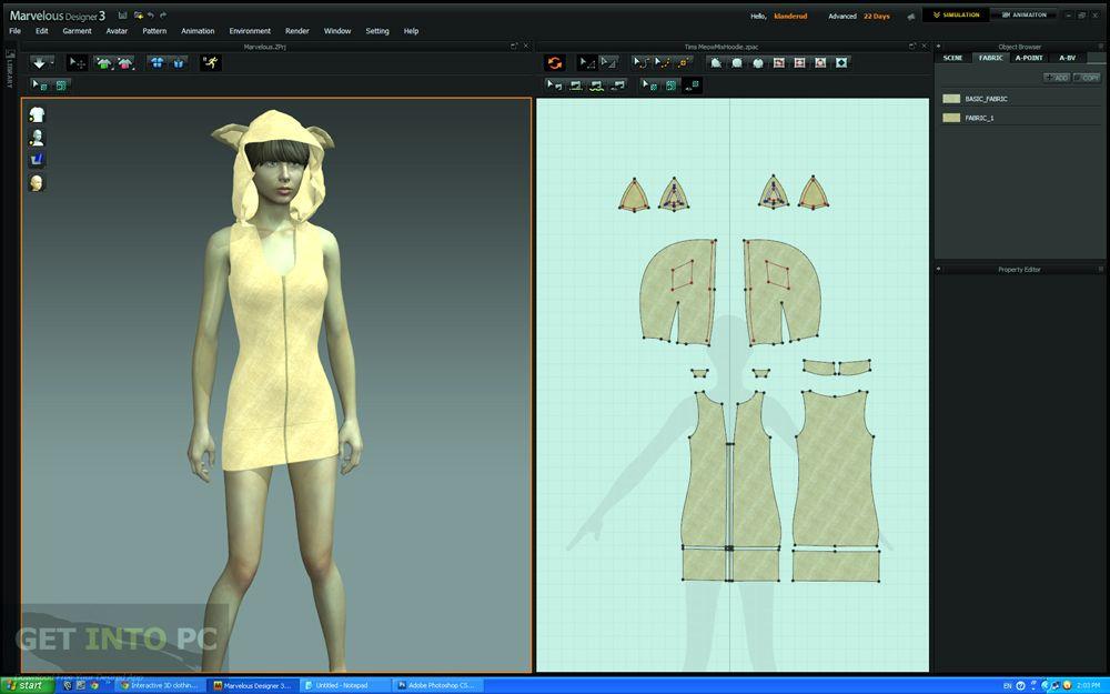 Marvelous Designer 3 Download For Free In 2020 Marvelous Designer Design Marvelous