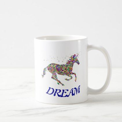 Unicorn Dream Coffee Mug - coffee custom unique special
