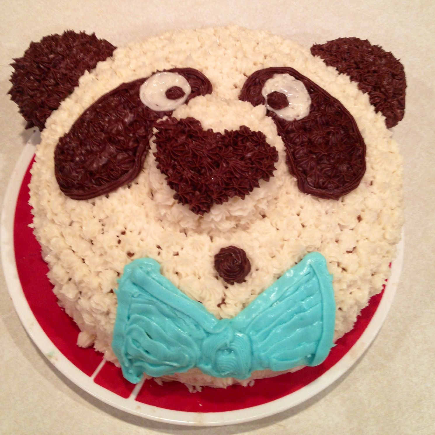 Panda Birthday Cake For My Daughter With Gluten Free Cupcake Nose Ears