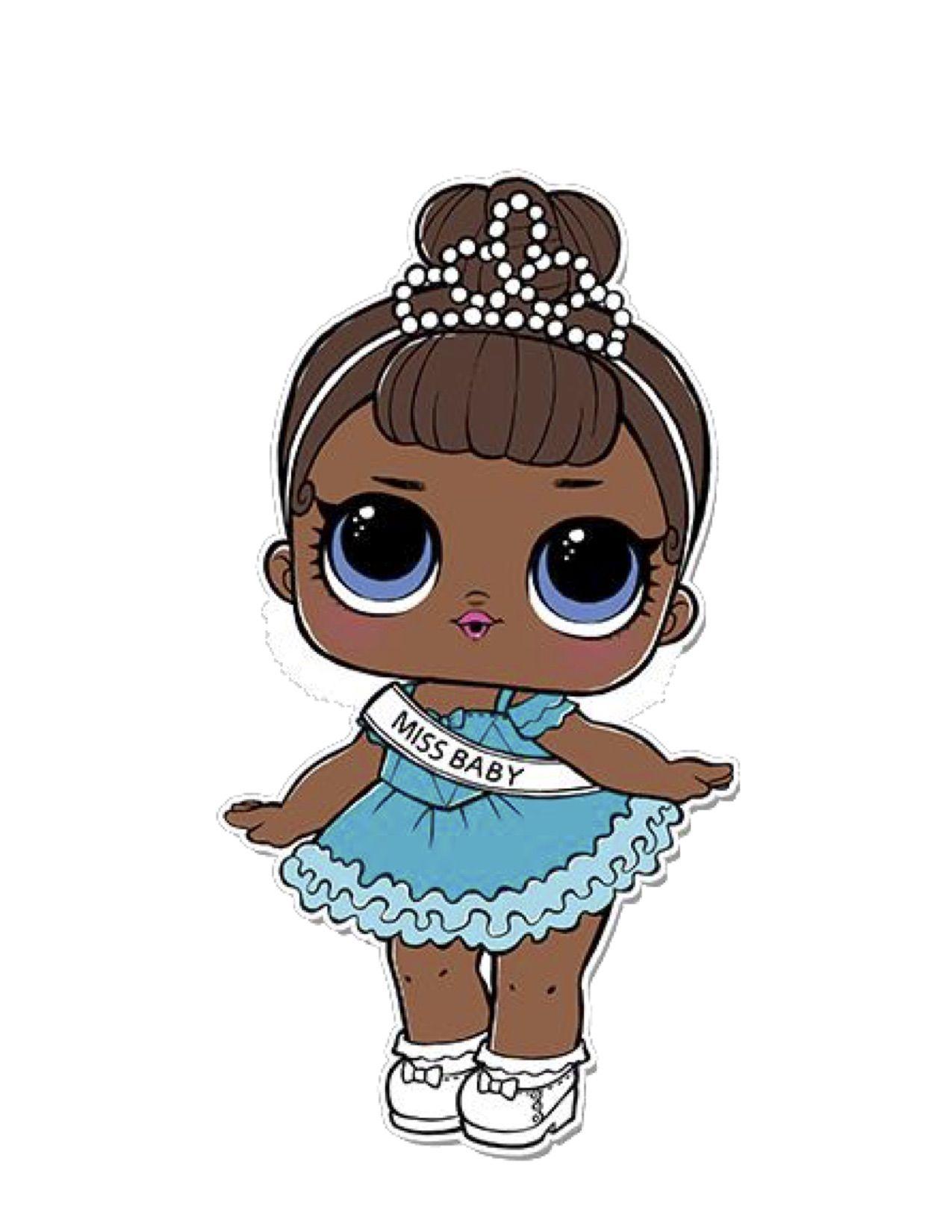 Lol Surprise Dolls Miss Baby Poupees Lol Coloriage Lol