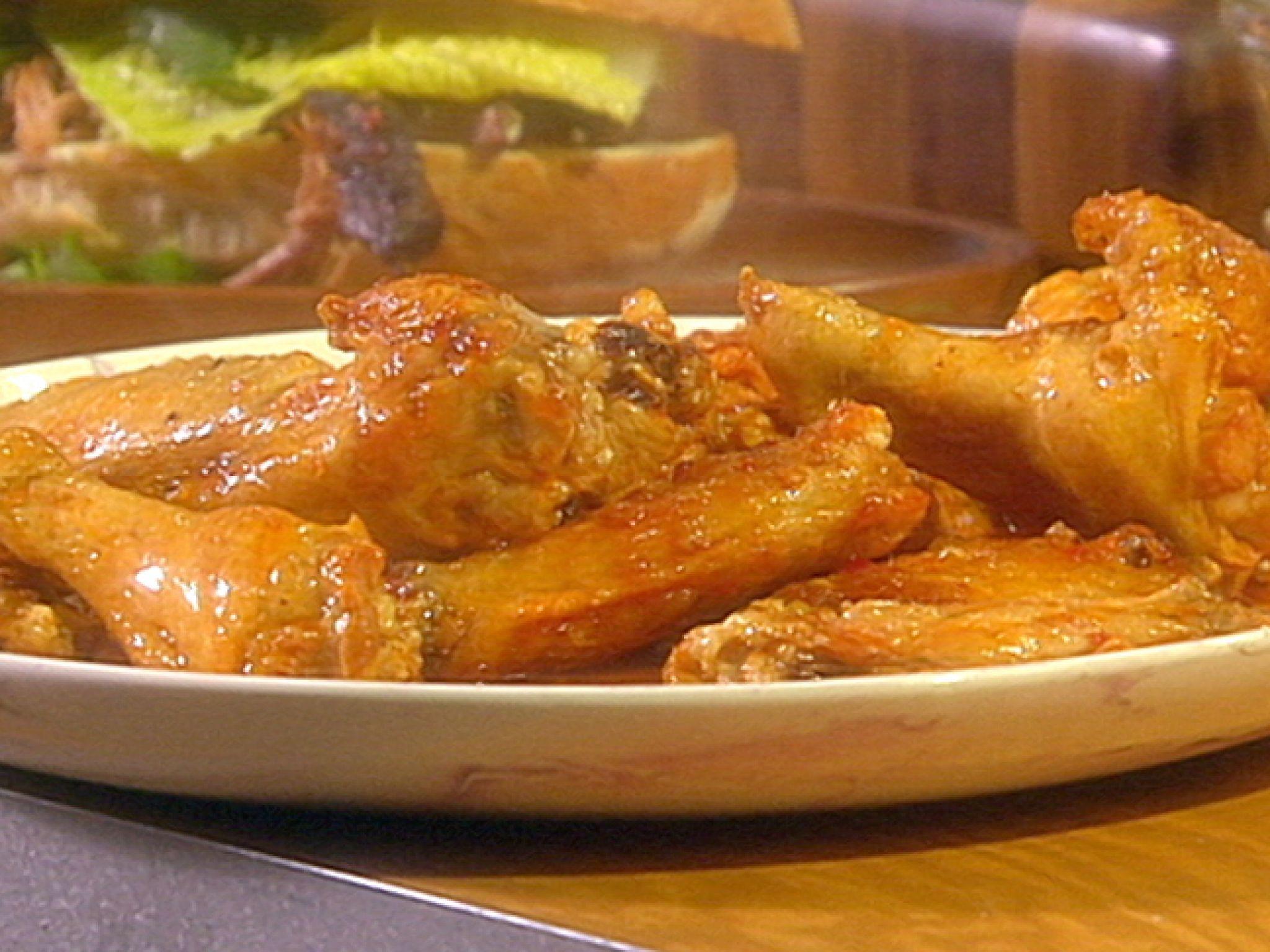 Korean chicken wings recipe korean chicken wings korean chicken meat korean chicken wings recipe from guy fieri via food network forumfinder Choice Image