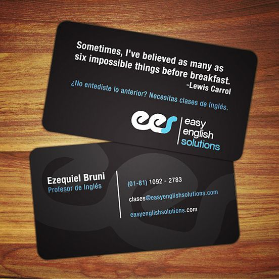 55 Awesome Business Card Design Inspiration The Design Work Fun Business Card Design Cool Business Cards Business Card Design