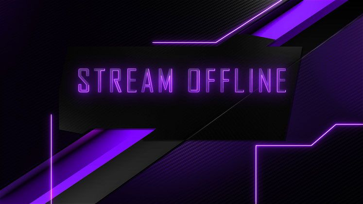 Animated Offline Twitch Screens For Obs Xsplit Movegraph Twitch Streaming Setup Free Overlays
