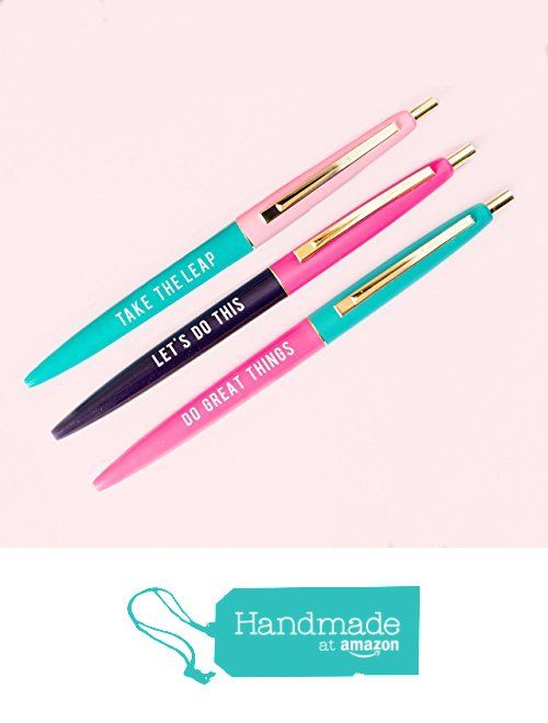 Inspirational Pen Set from Sweet Water Decor
