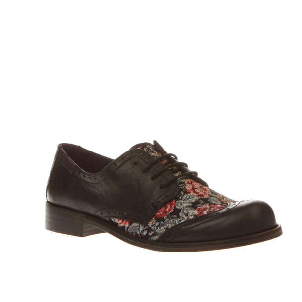 Womens Black & Green Red Or Dead Rosie Flats | schuh