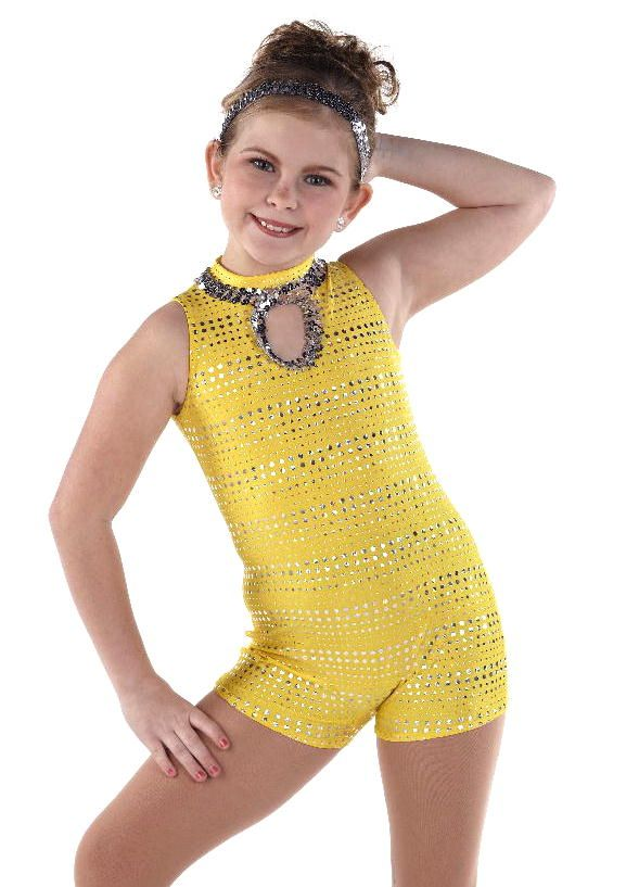 d8dae4fb9888 Color Your World Yellow Unitard Gymnastic Dance Costume Huge ...