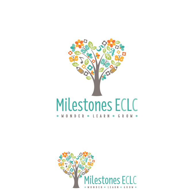 design a natural and whimsical logo for an inclusive preschool by rh pinterest com pre school gosport preschool logo display