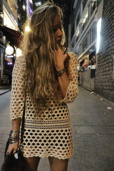 #crochet dress