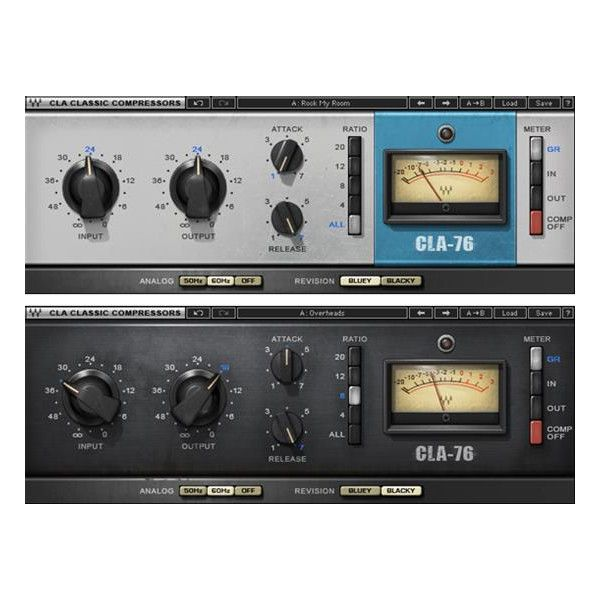 Models Both Versions Of The 1176 Mid 60s Class A Line Level Limiting Amplifier Blacky And Bluey Offers The Super Fast Music Software Plugins Compressor
