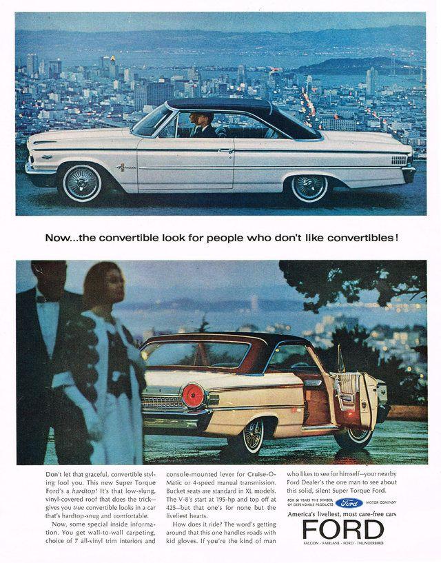 1964 Ford Galaxie Ad Photo Picture Ford Galaxie Ford Fairlane Ford Galaxie 500