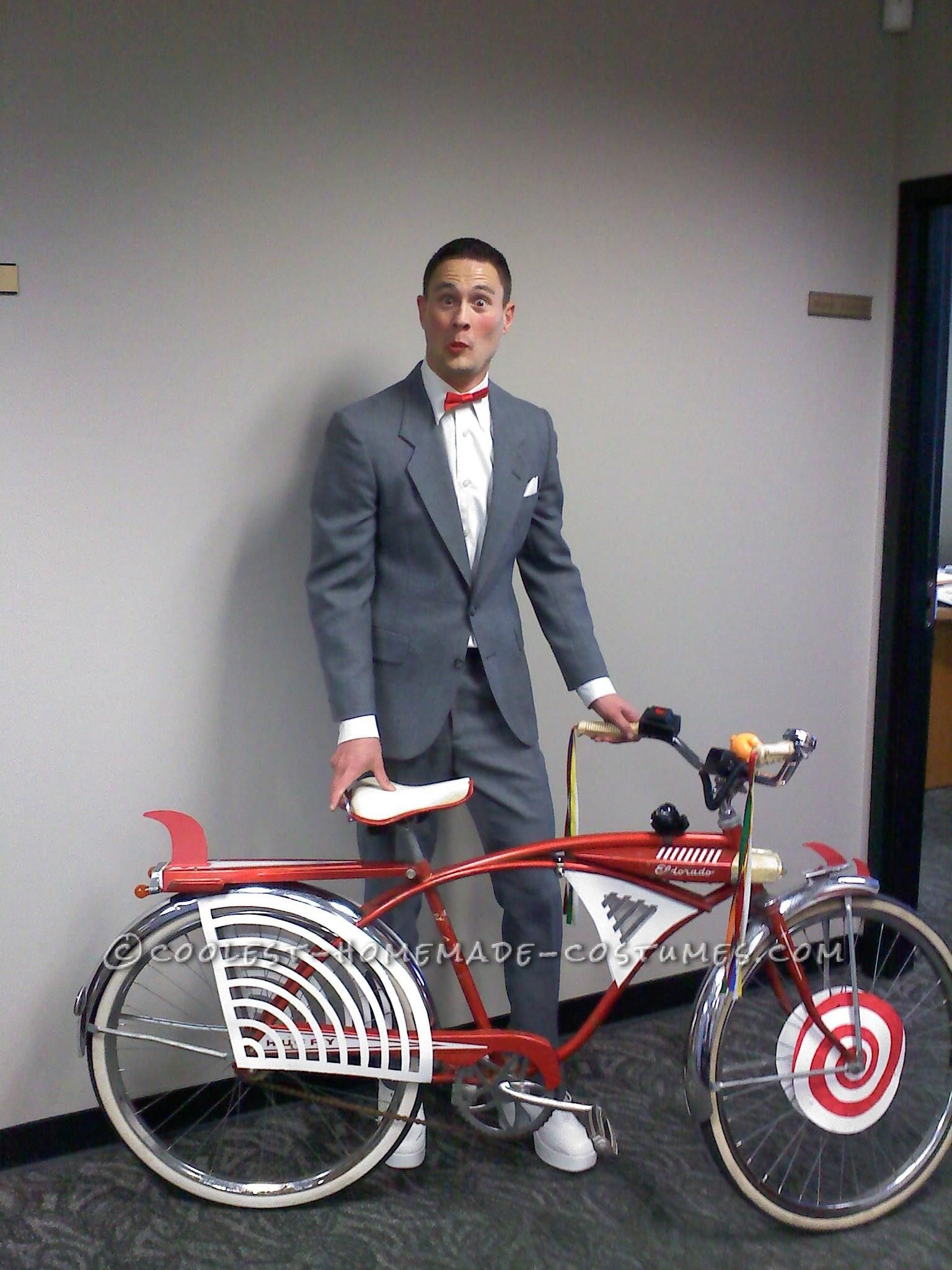 What A Cool (And Very Resembling) Pee Wee Herman Halloween