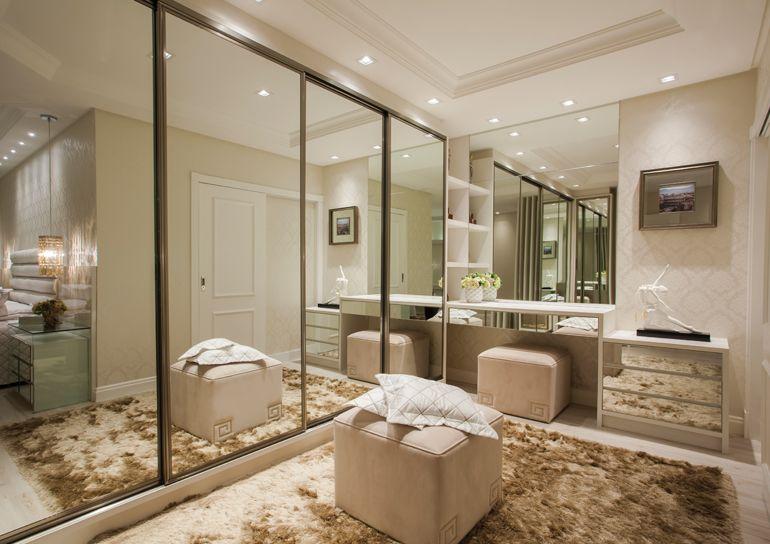 Reforma De Quarto ~ Quartos com closets integrados veja modelos de layouts e dicas! decoraçao Pinterest