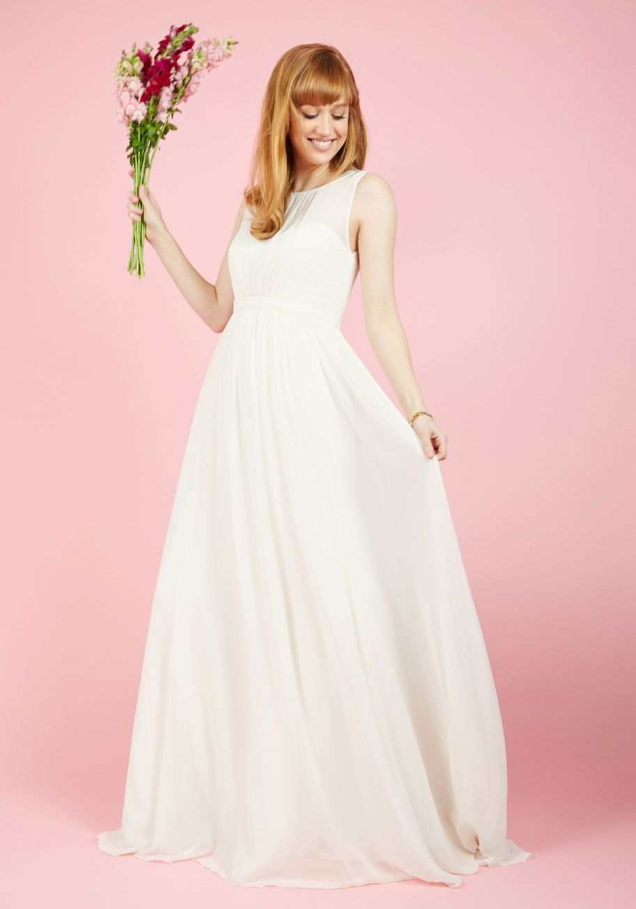 0ad47b00274 Reverie Moment With You Maxi Dress in Ivory. Sometimes life is so good it  feels like a dream