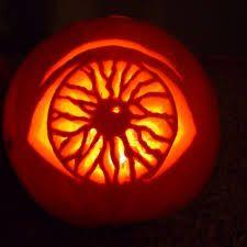 pumpkin template eyeball  Eyeball pumpkin   Amazing pumpkin carving, Scary pumpkin ...